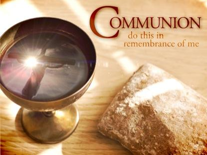 communion meditations